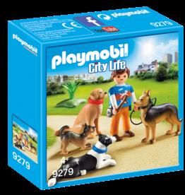 Playmobil 9279 Entraîneur et chiens