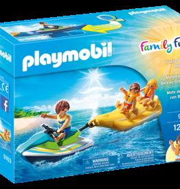 Playmobil 9163 Motomarine et Bateau Gonflable