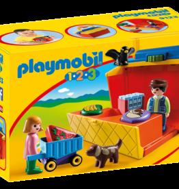 Playmobil 9123 Étal de marché transportable