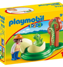 Playmobil 9121 Exploratrice et bébé dinosaure