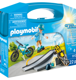 Playmobil 9107 Valisette Sports Extrêmes