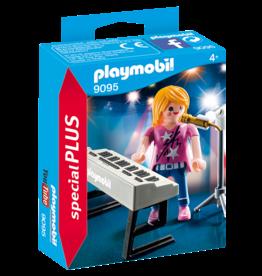 Playmobil 9095 Chanteuse avec synthé
