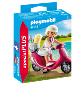 Playmobil 9084 Vacancière avec scooter