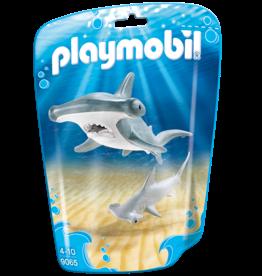 Playmobil 9065 Requin-marteau et son petit
