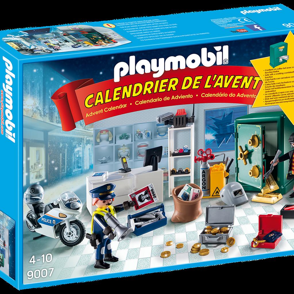 Playmobil Calendrier.Playmobil 9007 Calendrier De L Avent Policier Et Cambrioleur