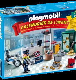 Playmobil 9007 Calendrier de l'Avent Policier et cambrioleur