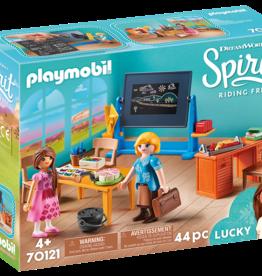 Playmobil 70121 Mlle Kate Flores et salle de classe