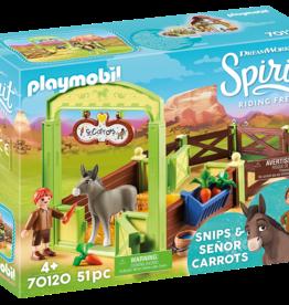 Playmobil 70120 La Mèche et M. Carotte avec box
