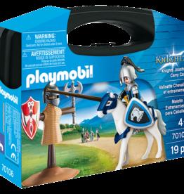 Playmobil 70106 Valisette Chevalier et entrainement
