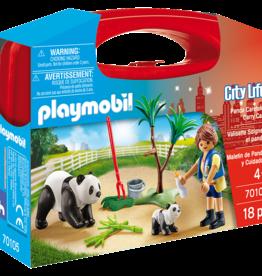 Playmobil 70105 Valisette Soigneur et pandas
