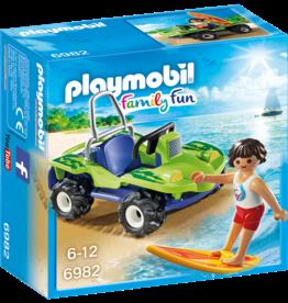 Playmobil 6982 Surfer et buggy