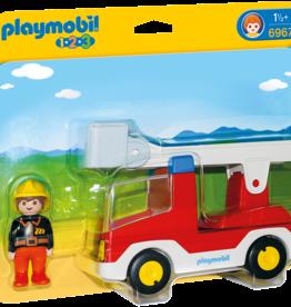 Playmobil 6967 Camion de pompier avec échelle