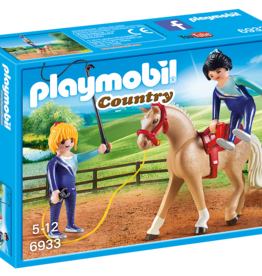Playmobil 6933 Voltigeuses et cheval