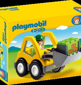 Playmobil 6775 Chargeur et ouvrier 1.2.3