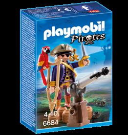 Playmobil 6684 Capitaine des pirates