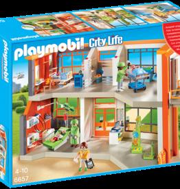 Playmobil 6657 Hôpital pour enfants meublé