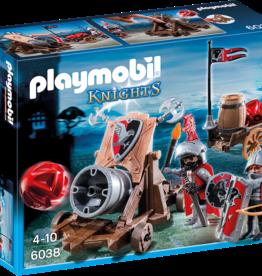 Playmobil 6038 Chevaliers du Faucon et canon géant