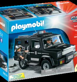 Playmobil 5674 Voiture d'Unité Spéciale