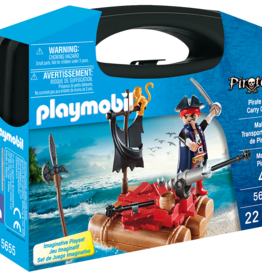 Playmobil 5655 Valisette Transportable de Pirates