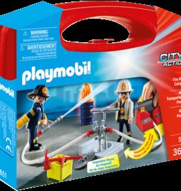 Playmobil 5651 Mallette de transport incendie