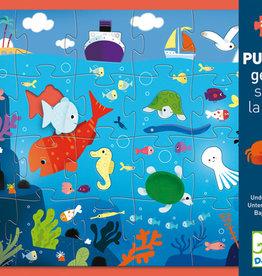 Djeco Puzzle géant Sous la mer