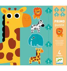 Djeco Primo puzzle Dans la jungle