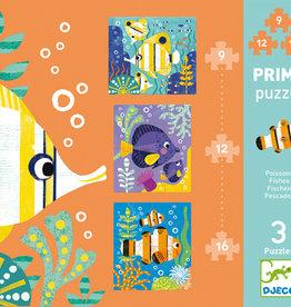 Djeco Primo puzzle Poissons