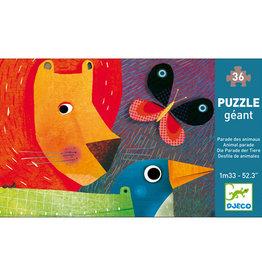 Djeco Puzzle géant Parade des animaux