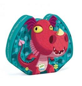 Djeco Puzzle silhouette Edmond le dragon