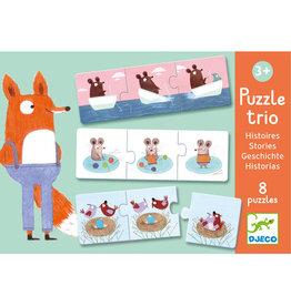 Djeco Puzzle trio Histoires