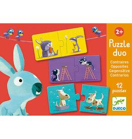 Djeco Puzzle duo Contraires