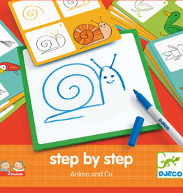 Djeco Edulodo Step by step animaux