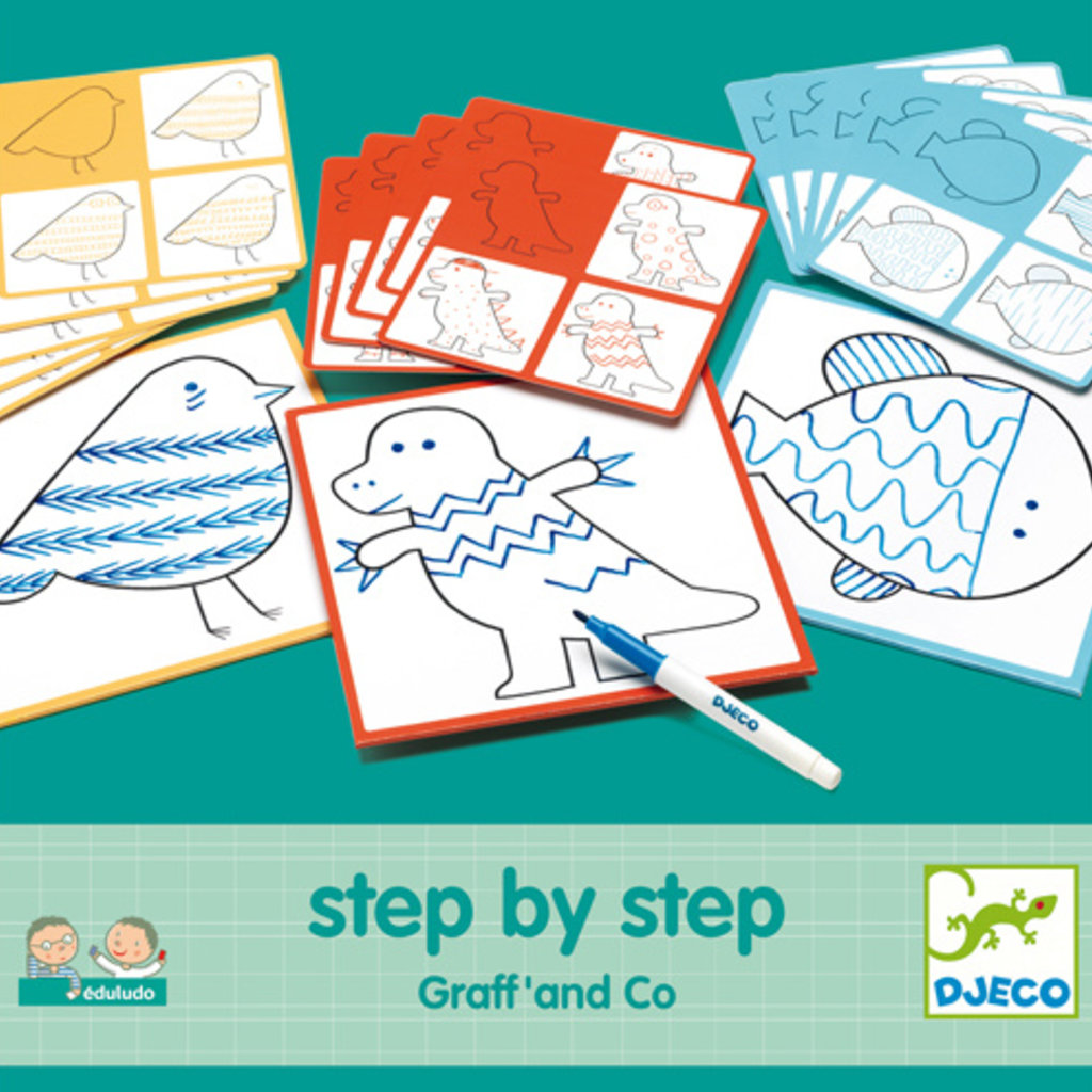 Djeco Edulodo Step by step Graff & co
