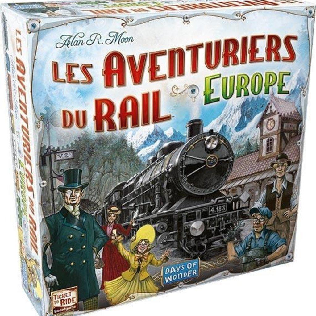 Days of Wonder Les Aventuriers du Rail Europe