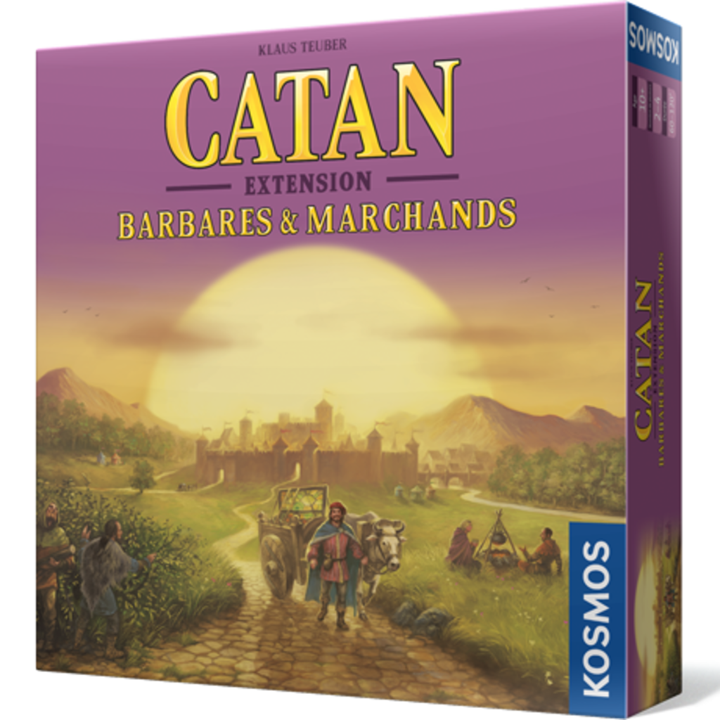 Filosofia Catan - extension Barbares & Marchands
