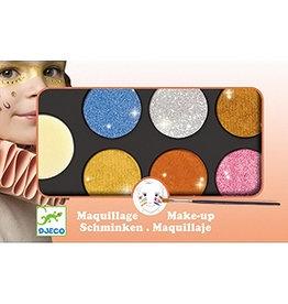 Djeco Palette de maquillage Métallique