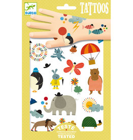 Djeco Tatouages Jolies petits choses