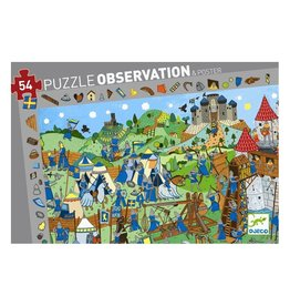 Djeco Puzzle observation Chevaliers