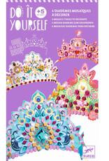 Djeco Diadèmes mosaïques Comme une princesse