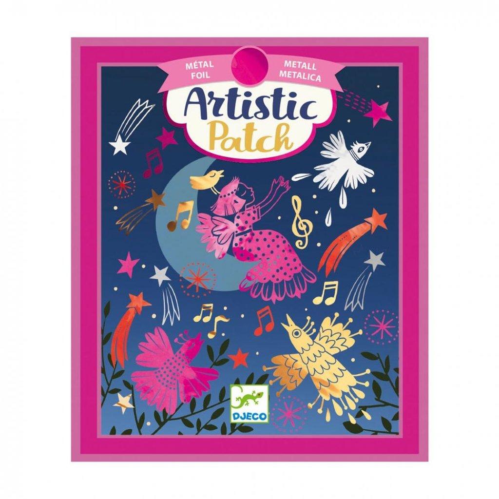 Djeco Djeco - Artistic patch métal Ritournelle