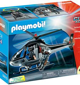 Playmobil 5675 Hélicoptère d'Unité Spéciale