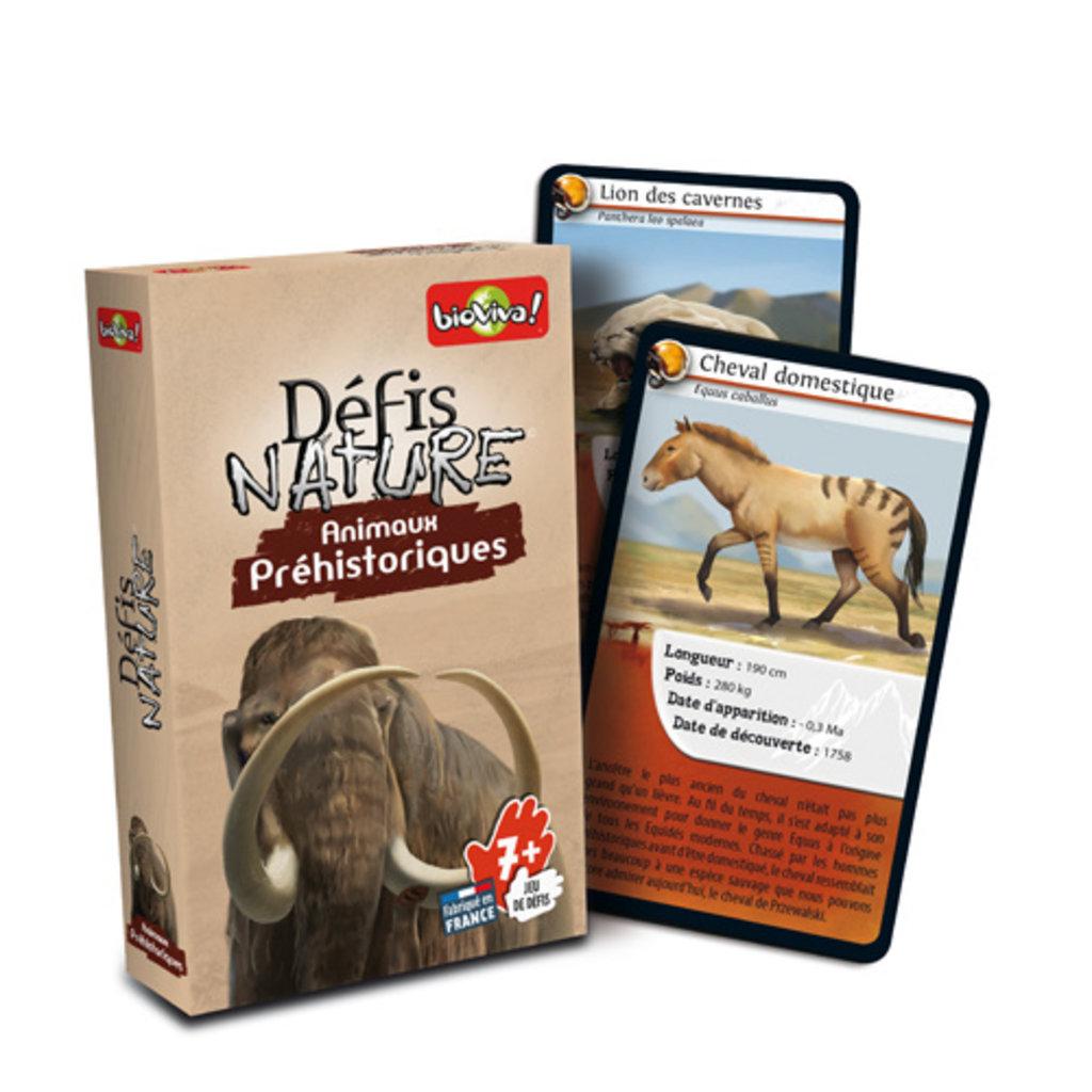 Bioviva Défis nature -  Animaux préhistoriques
