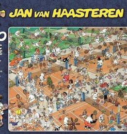 Jan van Haasteren 1000mcx, Le court de tennis