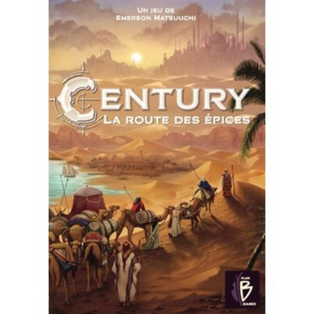 Plan Games Century La route des épices