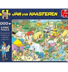 Jan van Haasteren 1000mcx, Camping nature