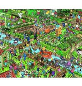 Jan van Haasteren 1000mcx, Le jardin de légumes