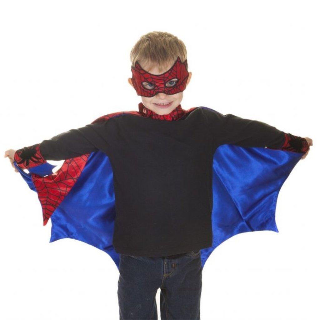 Great Pretenders Cape et masque Spiderman