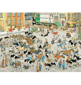 Jan van Haasteren 2000pc, The Cattle Market, JvH