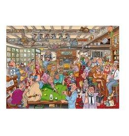 Wasgij W.D. #19 Taverne deux puzzle - 1000pcs