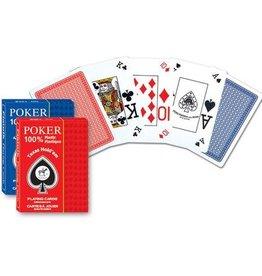 Piatnik 100 %Plas.Poker,Texas Hold'em